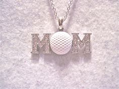 Hey, I found this really awesome Etsy listing at http://www.etsy.com/listing/128208067/golf-necklace-golf-mom