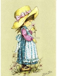Shop PrettyPostcards European vintage postcards, books and toys Holly Hobbie, Vintage Cards, Vintage Postcards, Coloring Books, Coloring Pages, Mary May, Sarah Key, Tatty Teddy, Cute Illustration