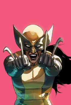 All New Wolverine #14 variant cover by Leinil Yu *