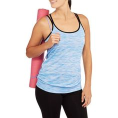 Danskin Now Studio Women's Tank with Criss-Cross Back - Walmart.com
