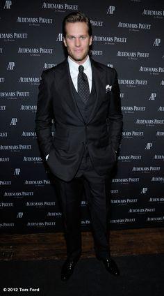 Suit impeccable de Tom Ford (as always)