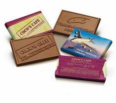 "Custom Chocolate Wrapper & Chocolate Bar (2""x3"")"