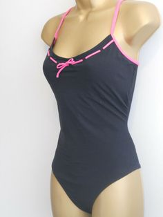 5f9cbfe70bb LADIES BLACK / PINK MARKS & SPENCER SWIMSUIT SIZE 14 CONTROL SWIMWEAR # fashion #clothing #shoes #accessories #womensclothing #swimwear (ebay link)