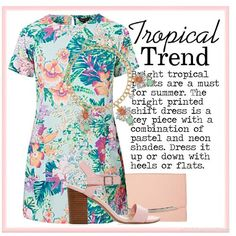 Tropical Trend  | Women's Outfit | ASOS Fashion Finder