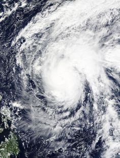 NASA's Terra Satellite Sees Typhoon In-fa Stretching in NW Pacific In-fa (was 27W) - Northwestern Pacific Ocean On Nov. 23 , 2015 at 02:00 UTC (Nov. 22 at 9 p.m. EST) the Moderate Resolution Imaging Spectroradiometer or MODIS instrument aboard NASA's Terra satellite captured an image of Typhoon In-fa in the Pacific Ocean. In-fa's cloud-filled eye was surrounded by powerful thunderstorms. A large band of thunderstorms were wrapping into the low-level center in the northeastern quadrant, and…
