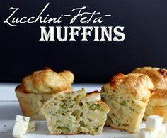 Rezept Zucchini-Feta-Muffins von Liv_90 - Rezept der Kategorie Backen herzhaft