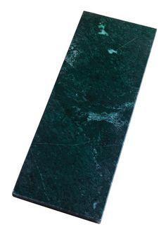 Marmor 15x40 cm. grøn