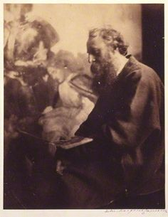 George Frederic Watts, photo by Julia Margaret Cameron