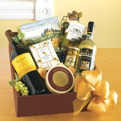Learn how to put together the perfect wine basket. #DIY gifts.  Yeah I think I could do a great wine basket any kinda wine. All about pairings!!!!