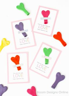 You Fill Me With Love Printable Valentines