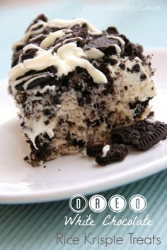 Tried It: Oreo White Chocolate Rice Krispies Treats