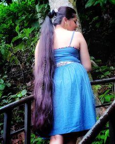 Long Ponytail Hairstyles, Long Hair Ponytail, Long Ponytails, Braids For Long Hair, Indian Hairstyles, Bun Hair, Indian Hair Cuts, Indian Long Hair Braid, Long Silky Hair