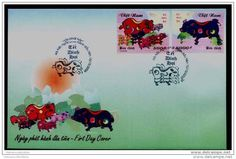 FDC Vietnam Viet nam 2006 : Year of Pig (Ms956)