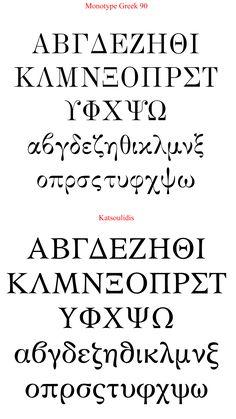 greek font characters - Google Search