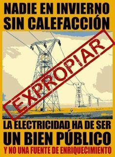 La electricidad ha de ser un bien público