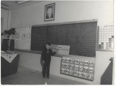 interior scoala 1980