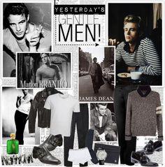 """Yesterday's Gentlemen!"" by jose-holguin on Polyvore"