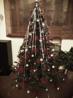 Il nostro albero di Natale di quest'anno... (Palline fatte a mano)