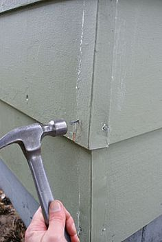 replace a section of hardboard or masonite siding with new fiber