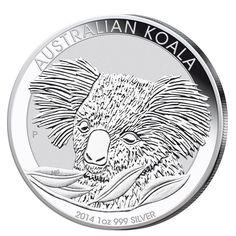 Silbermünze Koala Australien 1oz 2014 1$