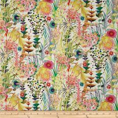 Liberty Fabrics Tresco Lawn Cream/Multi Fabric by the Yard Liberty Of London Fabric, Liberty Fabric, Cotton Lawn Fabric, Linen Fabric, Wall Fabric, Cushion Fabric, Curtain Fabric, Home Decor Fabric, Fabric Crafts