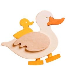 Doddering Duck |Fauna Wooden Toys The Doddering Duck by Fauna Wooden Toys comes complete with an adjustable ramp. When the duck is tilted at the top of the ramp it dodders all the way to the bottom. Made in Hungary from sustainable timbers.