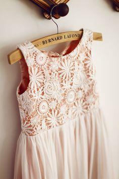Lace/Chiffon  Etsy listing at https://www.etsy.com/listing/222487370/pink-lace-chiffon-boho-flower-girl-dress