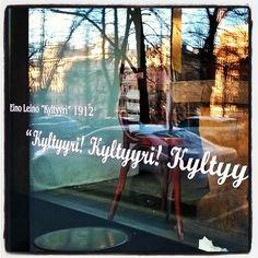 """#runoilija #poet #EinoLeino #poem #runo 1912 #Kylttyyriä! #kulttuuria #cyltyre. #author can be #ironic and #selfironic and wonders what's behind bättre…"""
