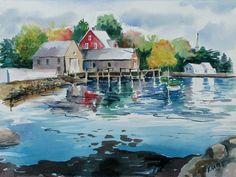 Cape Porpoise by old friend Ken Harris