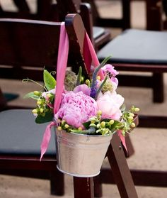 Flowers, Pink, Green, Ceremony, Purple, Yellow, Peonies, Aisle, Chair, Tulips, Sweet, The blue orchid, Peas, Bucket, Pods
