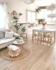Home Room Design, Interior Design Living Room, Living Room Designs, House Design, Interior Shop, Apartment Interior, Kitchen Interior, Apartment Ideas, Boho Living Room