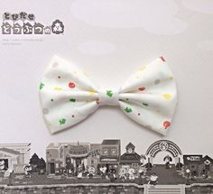 Animal Crossing New Leaf Inspired Hair Bow or Bow Tie