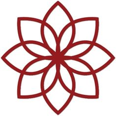 Silhouette Design Store - View Design #3111: flower