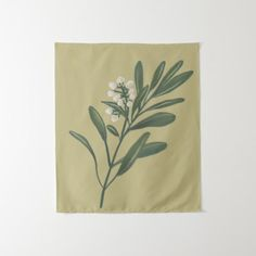 Vintage Botanical Tapestry-Retro Design- Tapestry - floral style flower flowers stylish diy personalize