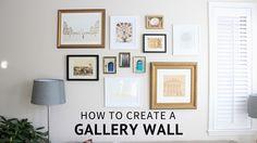 Gallery wall Sadie Road
