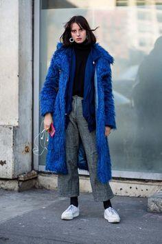 Street style New York fashion week autumn/winter '18/'19 - Vogue Australia