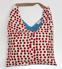 Painted Dot Canvas Tote   Women's Bags & Accessories   Boutique Textiles   Scoutmob Shoppe   Product Detail