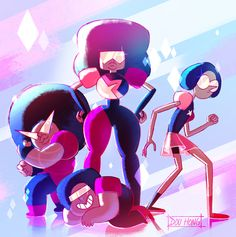 Steven Universe: Garnet and the Garnets! by dou-hong