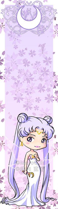 Queen Serenity bookmark by Marc-G.deviantart.com on @deviantART