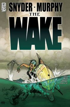 The Wake #7 (of 10) Two hundred years in the future, things are not looking good for the human race. But a mysterious call from the deep could change everything.