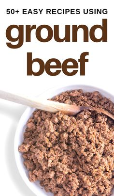 From hamburger patties and meatloaves to soups, stews, and casseroles. On pizza or wrapped in breads, one of these over 50 hamburger meat recipes are sure to please you and your family! #groundbeef #hamburgermeat #mincemeat #easyrecipes 3boysandadog