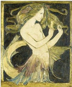 Robert Anning Bell ~   Gesso Panel ~ 1906