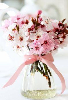 Risultati immagini per bouquet fiori di ciliegio