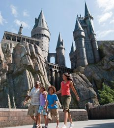 The Wizarding World of Harry Potter, Universal Studios, Orlando, FL.  TRY THE BUTTERBEER...it's AWESOME!