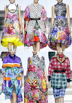 Patternbank brings you a concise overview of the most important print & pattern collections, from Spring 2018 RTW London shows. Mary Katrantzou Images