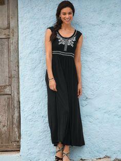 Women's Abby Knit Maxi Dress | Sahalie
