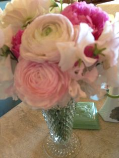 Vintage Vase at A Soolip Wedding Event display by The Green Ribbon Party Planning Co.