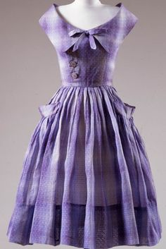 Dress by Mollie Parnis, ca 1954 New York, Center for Jewish History