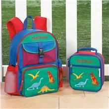 Dinosaur Backpacks and Lunch Bags