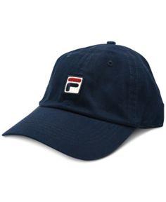 4fd32e318f4 Fila Heritage Cotton Baseball Cap